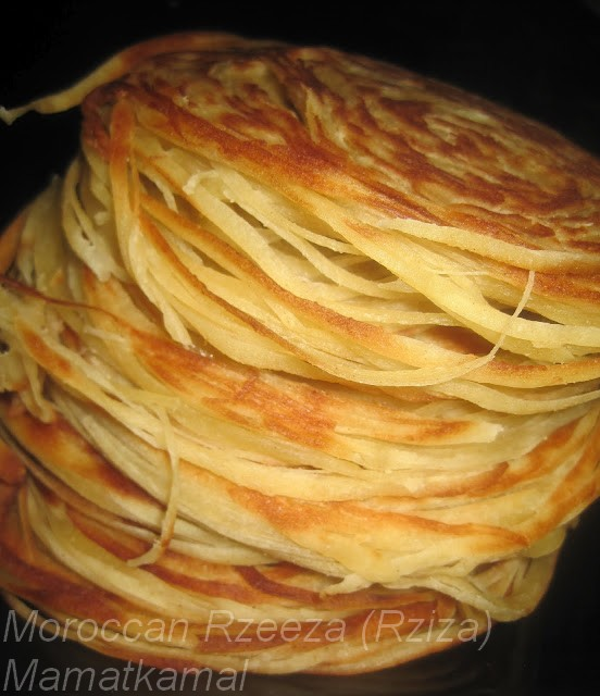 رزة القاظي-رْزِيزَة /Traditional Handmade Moroccan Rzeeza or Rzate Lquadi/Moroccan Judge's Turban / Turbans du juge-Crêpe Marocaine ou Rziza ou Rzisa! A