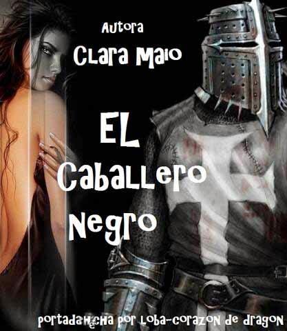 El caballero negro - Clara Maio Portada