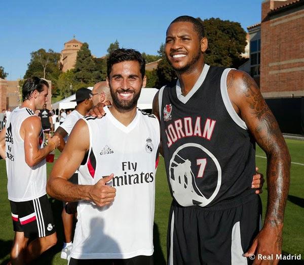 ¿Cuánto mide Carmelo Anthony? - Altura - Real height Carmelo-anthony-arbeloa