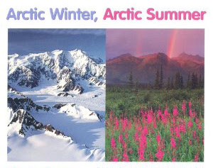 200 Proofs Earth is Not a Spinning Ball Arctic-summer-winter