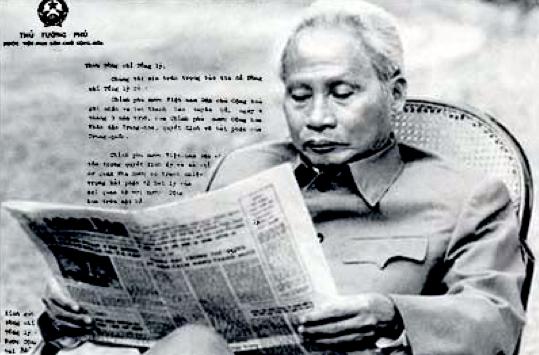 không - 42 tháng Tư và cuộc chiến không bom đạn Phamvandong-chbn