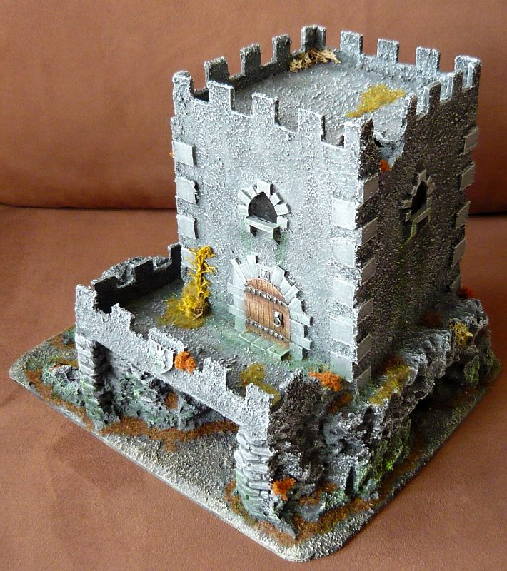 Dwalthrim's smithy - my table and terrain Dt09