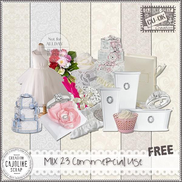 MIX 23 Commercial Use Cajoline_mix23_cu