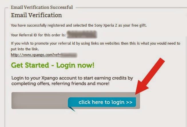 شرح موقع Xpango لربح الاجهزة الالكترونية عن طريق جمع النقاط 4