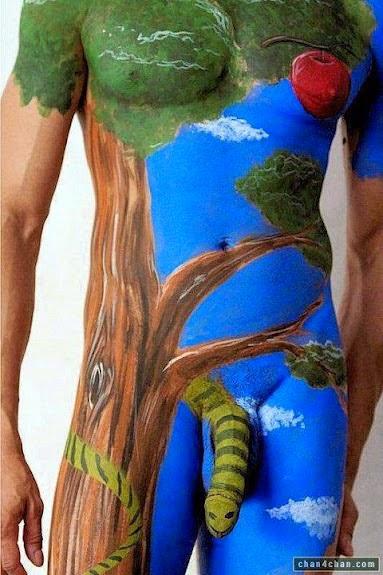 Dibujando el cuerpo Pintura-1