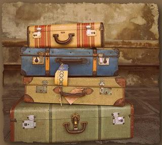 Καλημέρα!... με αναμνήσεις... Vintage-Luggage
