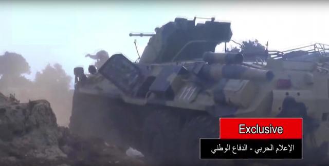 مدرعات BTR-82A الروسيه ودورها في الحرب الاهليه السوريه  334
