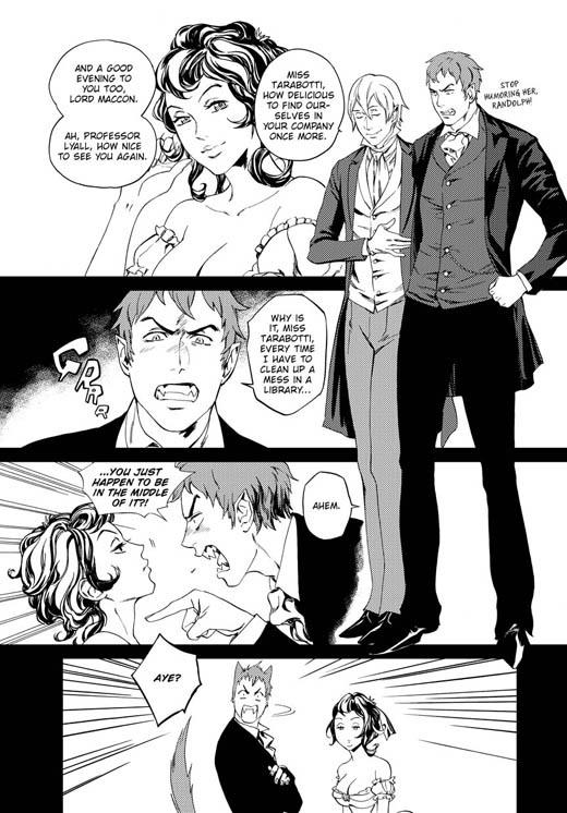 Le Protectorat de l'ombrelle, Tome 1 : Sans âme de Gail Carriger Manga-Souless-page-11-the-alexia-tarabotti-series-26488754-520-746
