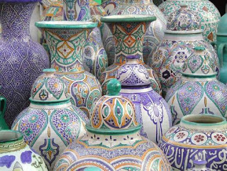 أطباق و أواني من الفخار صنع المغرب 9