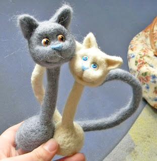 Мастер класс по созданию парных кошек     Elchy DSCN6070