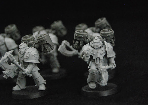 Warhammer 30k Sons of Horus  SOH_Reaver_WIP_05
