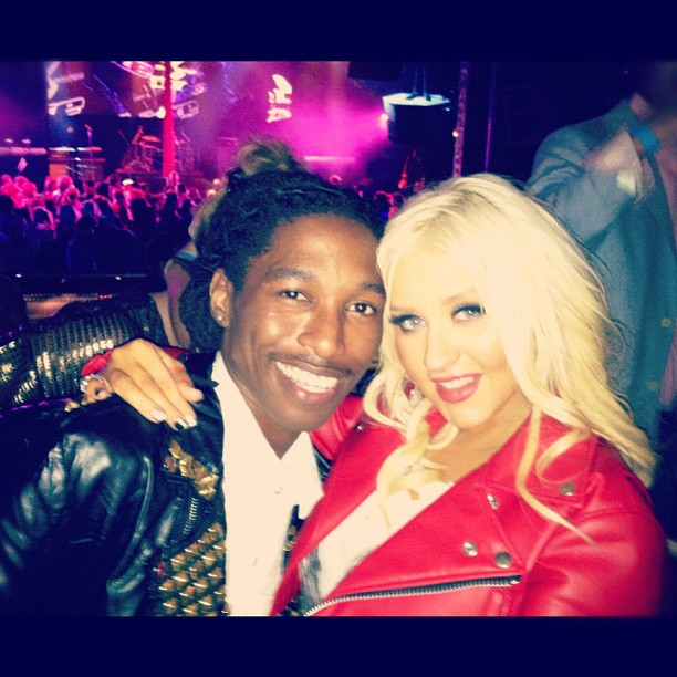 [Video+Fotos] NBC After Party! Christina Aguilera en el escenario 0504ab329b8111e1a8761231381b4856_7