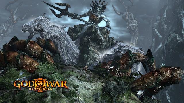 Prévia - God of War III Remastered - Revivendo experiências colossais Poseidon