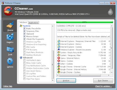 تنزيل برنامج CCleaner 5.00.5035 Beta افضل برنامج تنظيف كمبيوتر Screenshot1