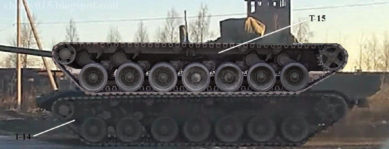 Armata: ¿el robotanque ruso? - Página 2 Armata%2Bt-15%2Bvs%2Bt-14