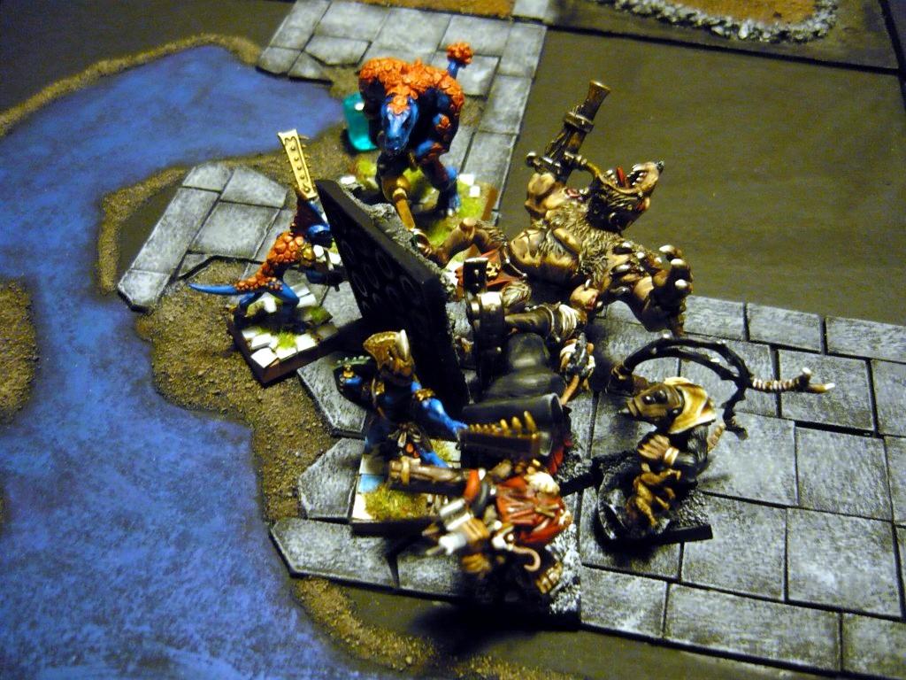 Testing Karak Zorn - first battle in the dungeons P1050542