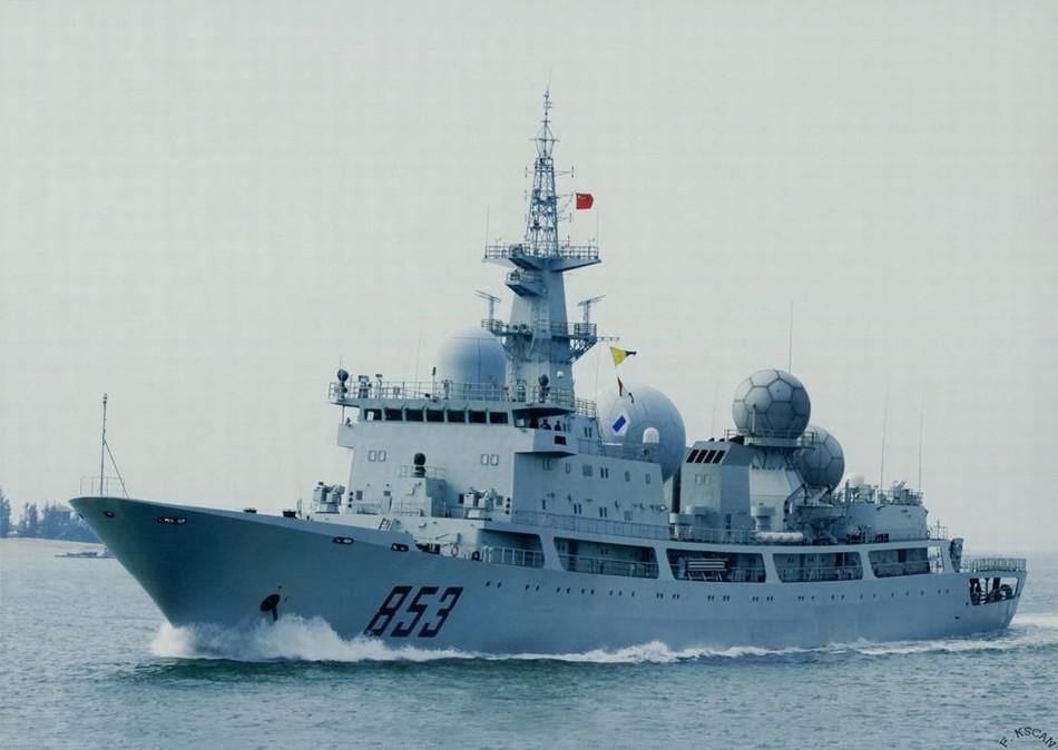 شامل اشهر واقوى سفن التجسس فى البحريات العالميه   Chinese%2BPLAN%2BType%2B815%2Belectronic%2Bsurveillance%2Bships8