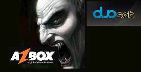 AZBOX DIZ QUE CONCORRENTES E ATÉ CARDSHARING USAM SEU SERVIDOR IKS E SKS HD SEM PERMISSÃO. Vampiros-duosat-azbox