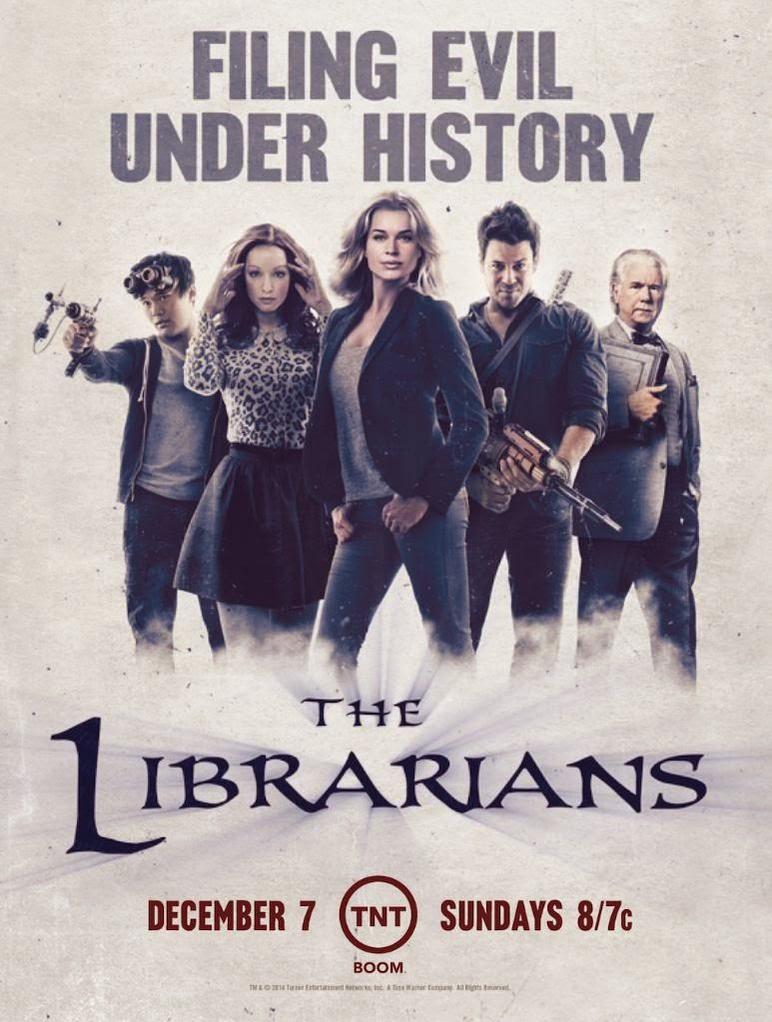 The Librarians (2014– )  B1IFbQmIQAEJIMh