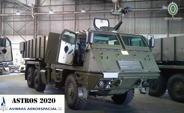 Brasil recibe el primer lote de vehículos Mk-6 del plan 'Astros 2020'. Efewfewf