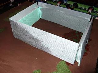 Mauer aus Trittschalldämmung - Tutorial 006a
