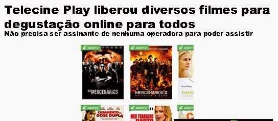TELECINE PLAY LIBEROU DIVERSOS FILMES PARA VER GRÁTIS ONLINE, APROVEITE! Telecine-play-filmes-liberados-para-todos