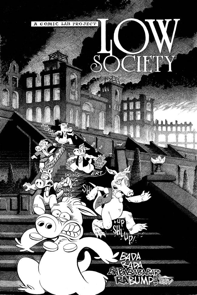 983-987 - Les comics que vous lisez en ce moment - Page 2 Low_society_bw