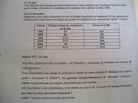 Examens TSC 3