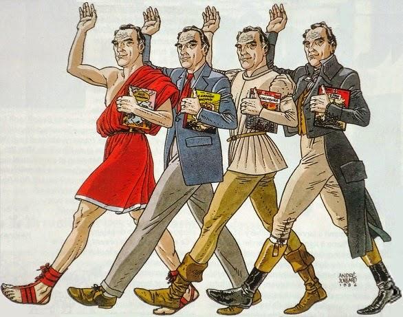 Caricatures et portraits de Jacques Martin Juillard%2Bin%2BBoDo%C3%AF%2B%2384