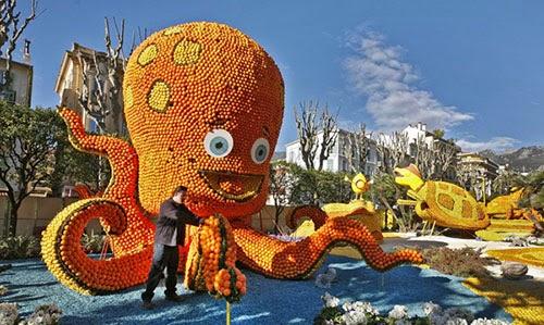 مهرجان الليمون والبرتقال في فرنسا 2