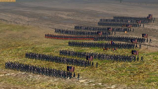 Pour les Fans de ACW => Scourge of War an American Civil War grand tactical wargame 2