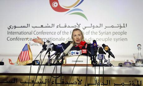 pour - Ingérence impérialiste en Syrie:  Le sinistre plan du Nouvel Ordre Mondial… HillaryClinton_Friends_of_Syria