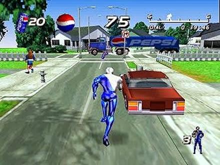 Pepsi Man Game 3
