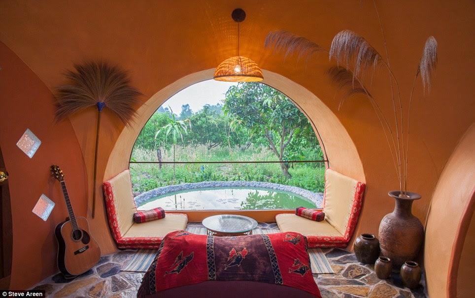 Une mini-maison de rêve en Thaïlande (photos + vidéo)  Dome6