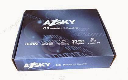 Vem ai Mais um  lançamento da  Marca Azsky. Conheça o novo Azsky G6  Iptv HD. 094