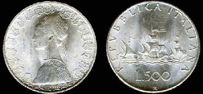 Numismatica e Filatelia 500Caravelle