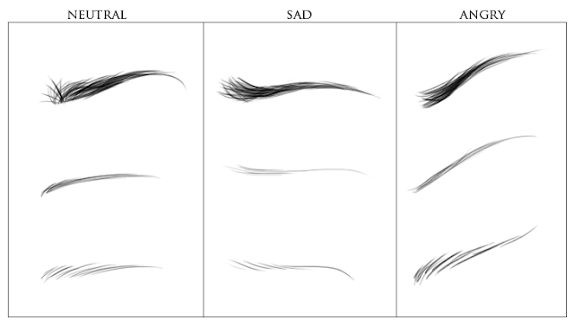 Creating eyebrows for BJD tutorial (Part 1) Eyebrows