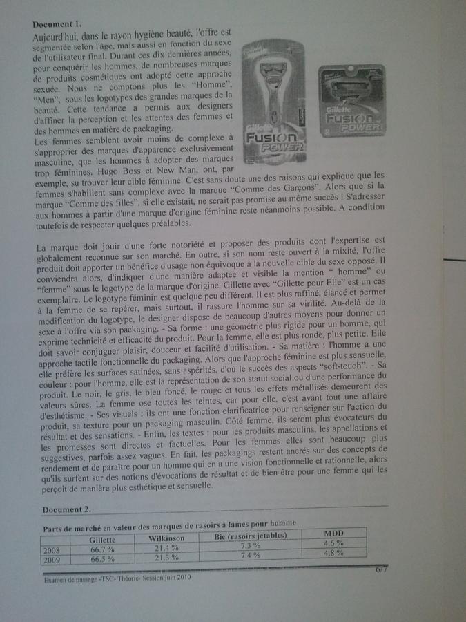 Examen de Passage TSC Pratique et Théorique 2010 006