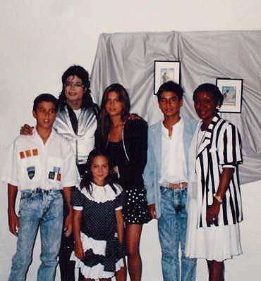 Michael Jackson Com Famosos 30