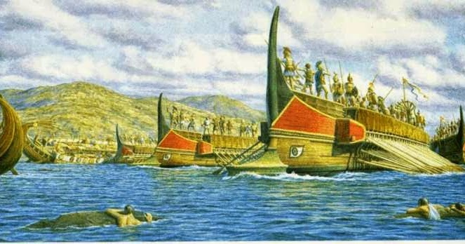 Teseo e il Minotauro Triires5