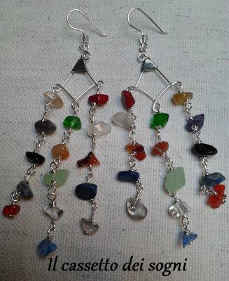 Orecchini chandelier Orecchini%2Bpietre