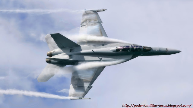 Boeing F/A-18E/F Super Hornet  (caza polivalente con capacidad para operar desde portaaviones)  - Página 5 Caza%2BF-18