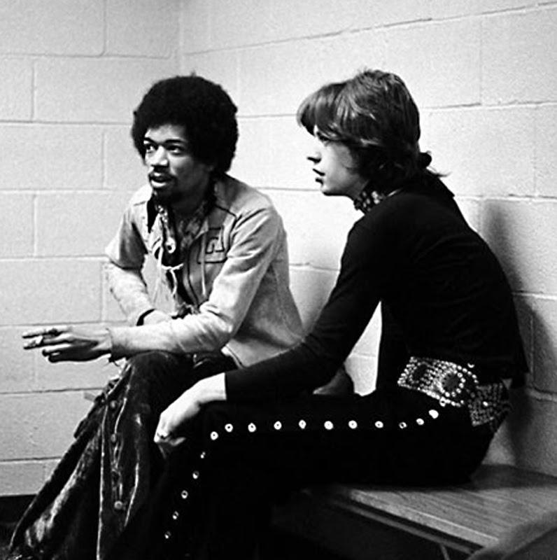 STAR DUST Jimi-Hendrix-with-Mick-Jagger