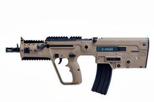 Israel Weapon Industries convierte al fusil de asalto X95 en el único arma del mundo con 3 calibres: 5,56,mm, 9 mm y 5,45 mm. 0swisstxt20070822_8129138_3