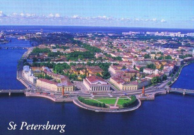 cidades de referencia e beleza  RUS-StPetersburg-postcard1