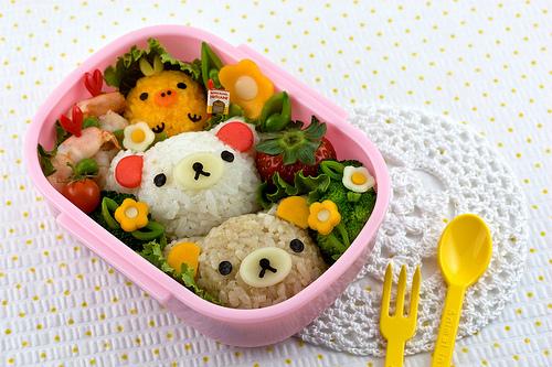 La cuisine Japonaise - Page 3 Rilakkuma_bento