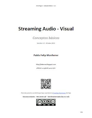 GUÍA DE STREAMING AUDIOVISUAL  - Conceptos básicos Streamingav