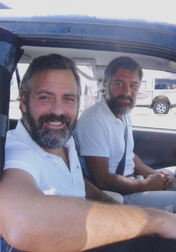 Casting for a George Clooney lookalike ANDY-with-GEORGE