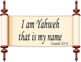 Имя Бога. (Продолжение 1) - Страница 33 Yahweh