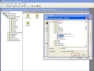 Como Restaurar uma Database no SQL Server 2000 Part7